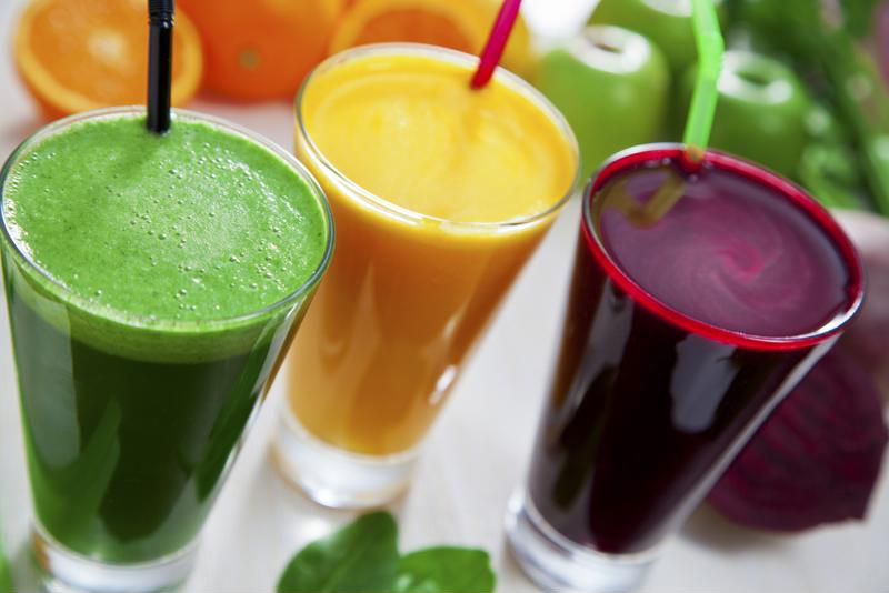Juicing offers the most nutritional content from fresh fruits and vegetables.