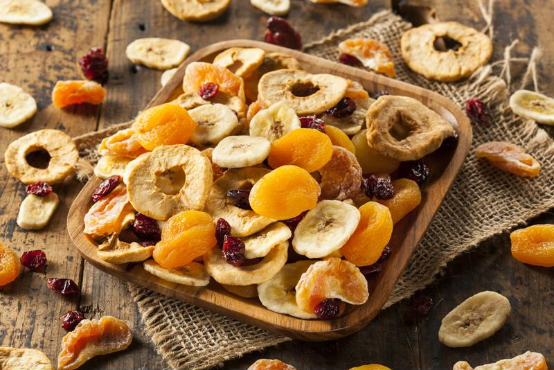 Dried apricots make for excellent snacks.