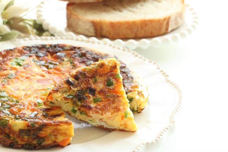 Delight your guests with a slow-cooked quiche or breakfast casserole.