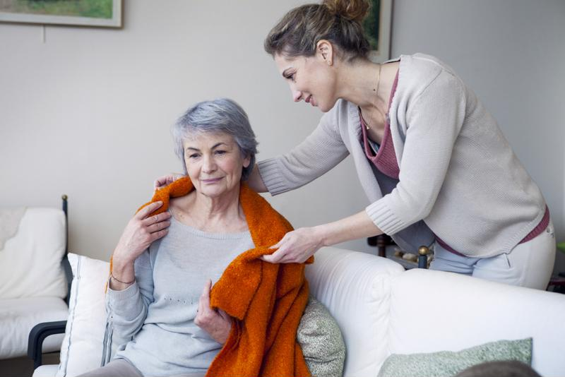 Caring for an aging family member can be a full time job.