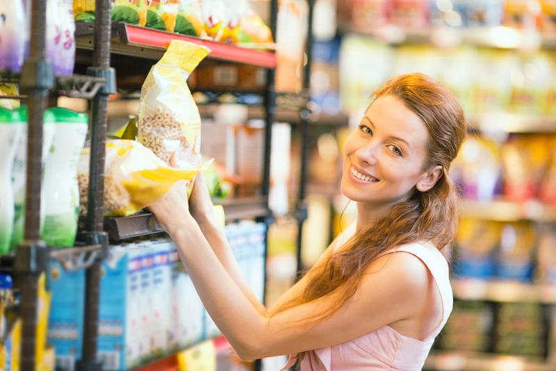 Buy foods in bulk to save some money.