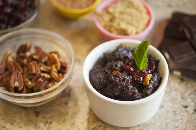This slow cooker chocolate bread pudding will surely be a hit.