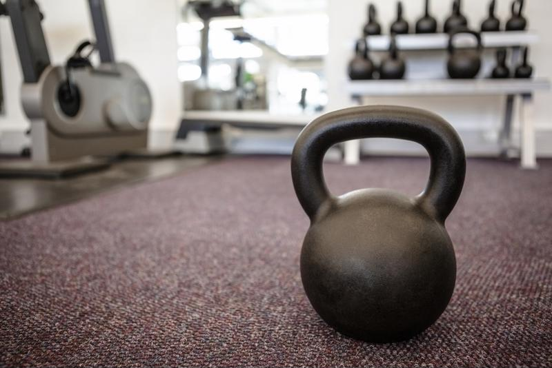 Find the right kettlebell weight for your small space workout.