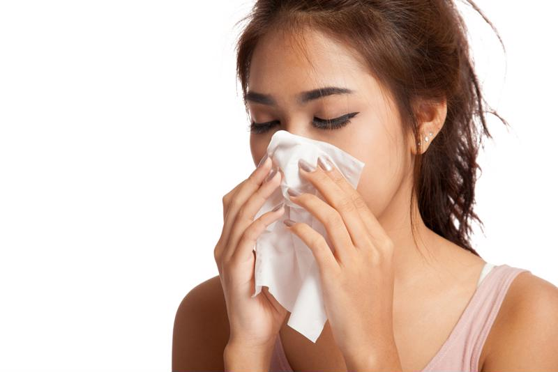 If your allergies worsen in one room, it may be a sign of mold.