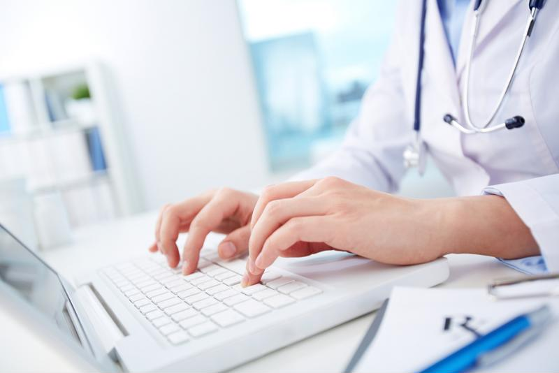 Doctors can connect to patients from anywhere at any time with patient portals.