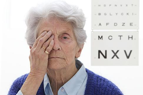 A visit to the optometrist can help one identify AMD.