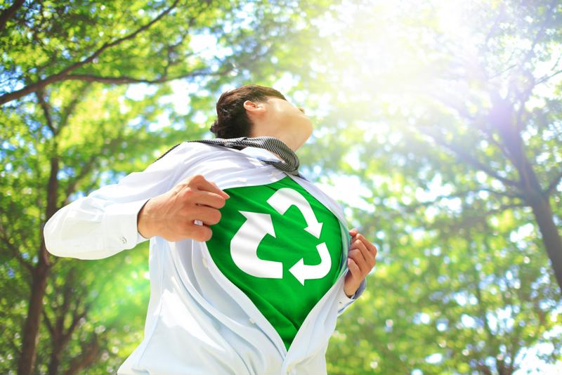 Don't be afraid to tell the world that your event is environmentally friendly.