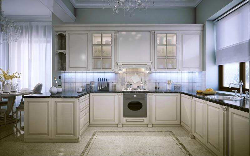Marble Can Make Any Kitchen Look Grand And Sophisticated.