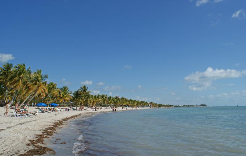 Smather's Beach is a great option vactioners looking to relax or be active in the Florida sun.