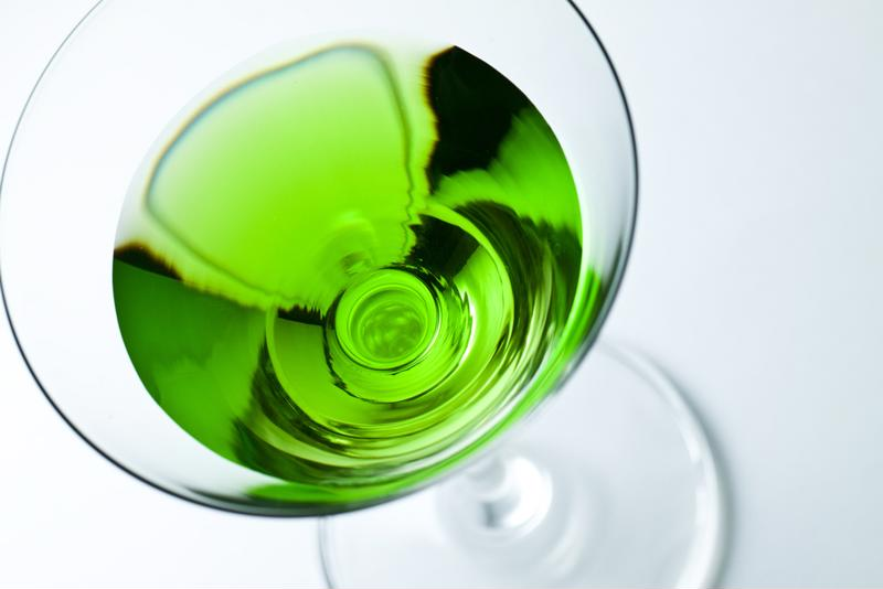 Put the classic Appletini in your frozen concoction maker for a great new drink.