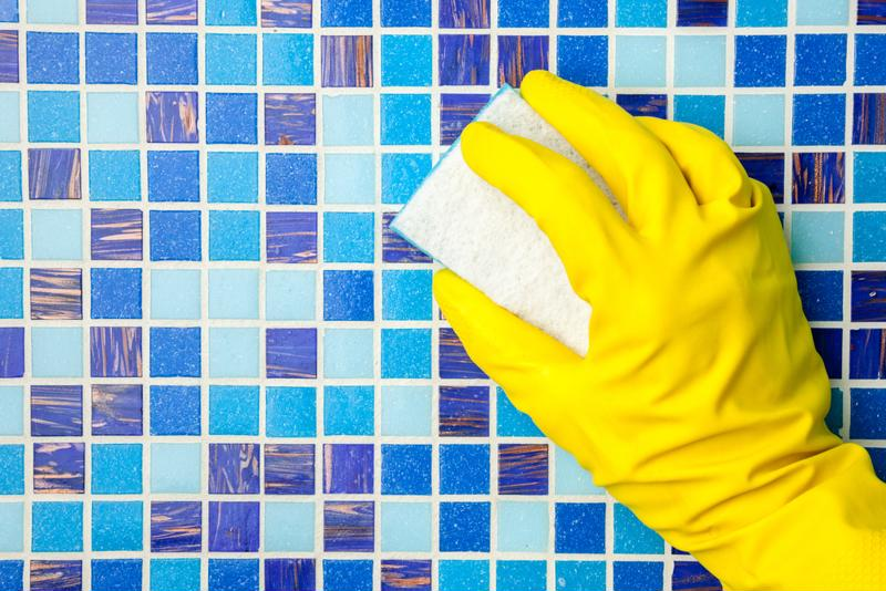 mosaic tile maintenance and cleaning