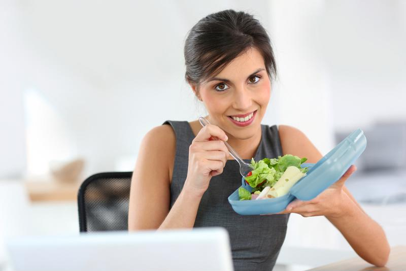 A proper lunch can be physically and emotionally beneficial.