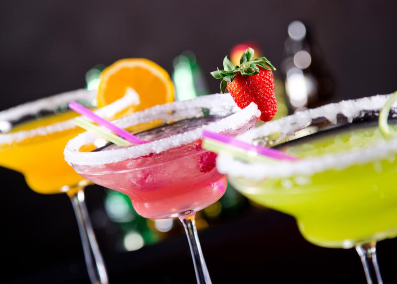Serve each cocktail with a perfect salt or sugar rim.