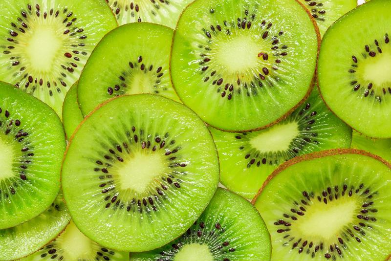 Kiwis add a blast of flavor and texture into your favorite drinks.