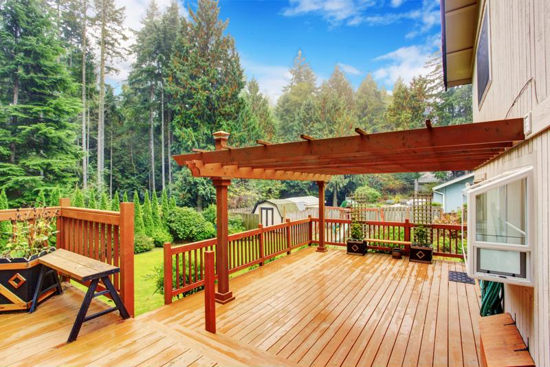 Nothing captures natural beauty quite like a wooden pergola.