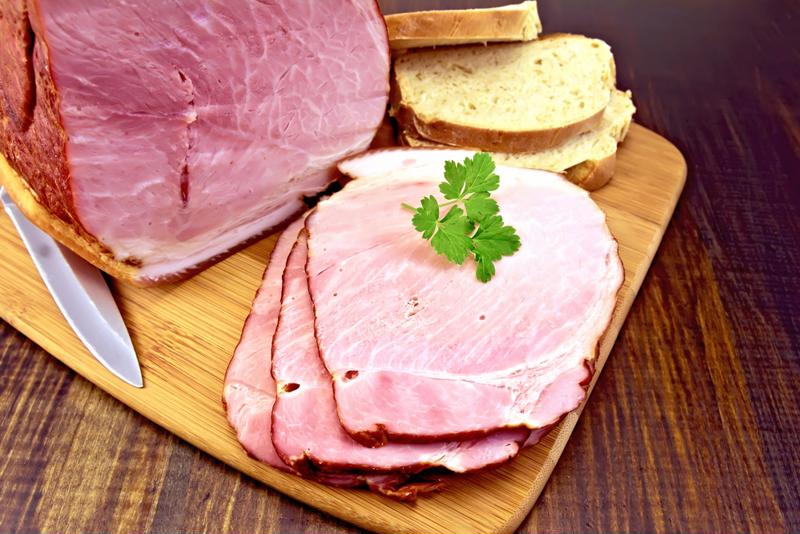 Prepare a savory ham dinner for your family.