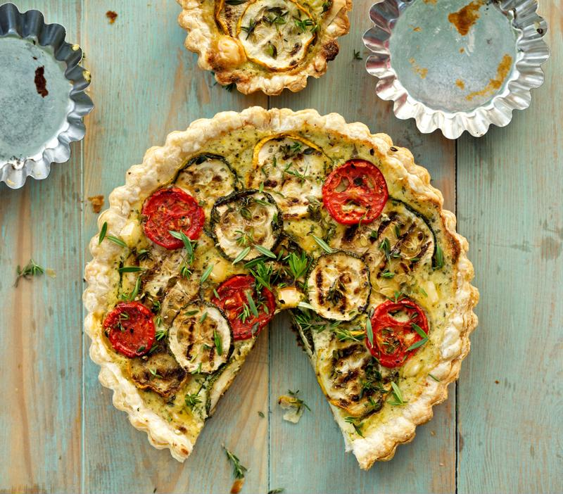 Quiche is nutritious and delicious.