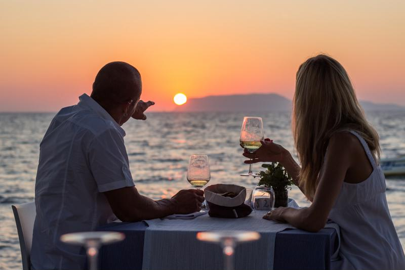 Nothing is more scenic than a romantic dinner near the water in Maui.
