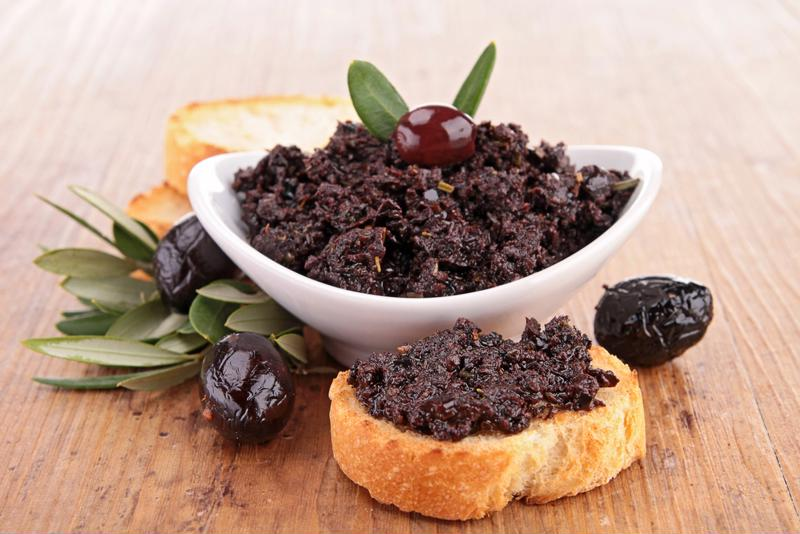 A tapenade is one dish you can prepare using a mortar and pestle.