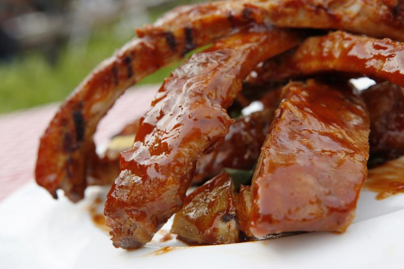 What's a barbecue without a rack of ribs?