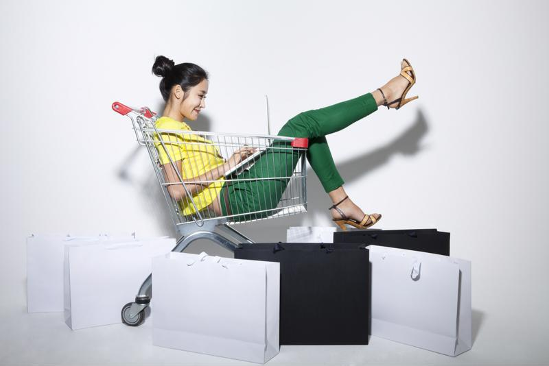 More people are using their mobile devices to shop online.