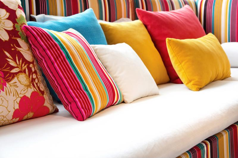 Pillows can instantly transform a room.