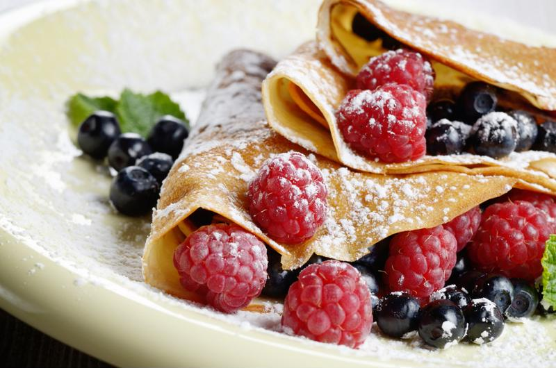 Make delicious crepes at home in your electric griddle.