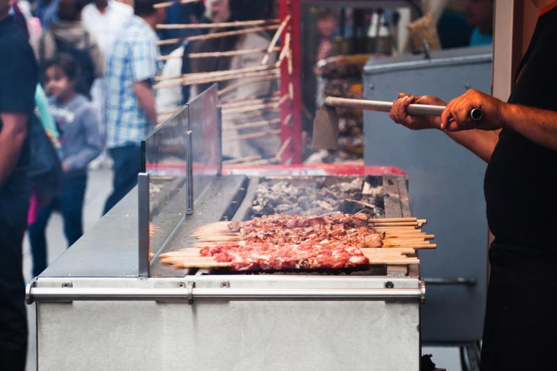 Food carts can be quite popular, but owners must know the risks.