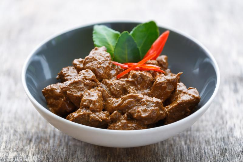 Flavorful beef that will melt in your mouth - nothing beats rendang.