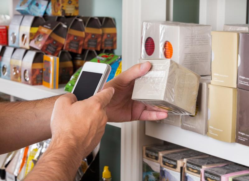 Consumers can now scan items and then pay all from their smartphone devices at some grocery stores.