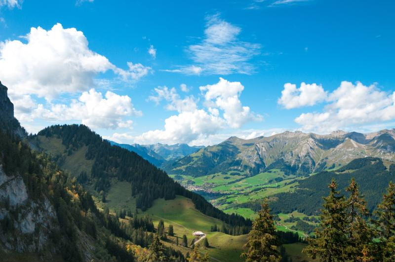 The Alps mountain passes provide one incredible view after another along the Klausen Pass.