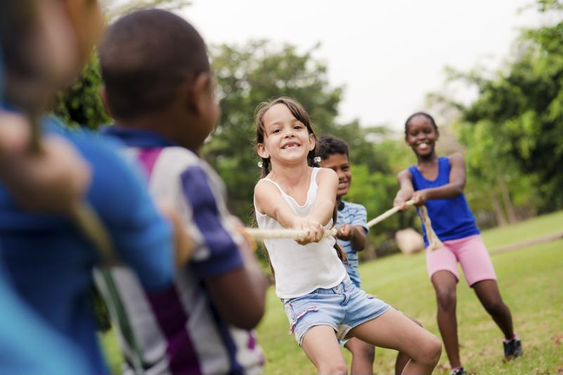 Don't be surprised if your children go right back to playing after you tell them about the diagnosis.