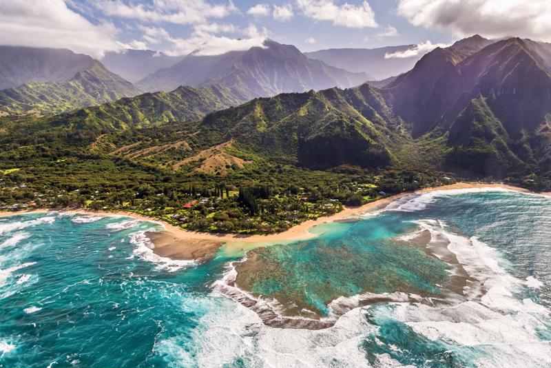 Kauai offers some of the most dramatic regions of Hawaii.