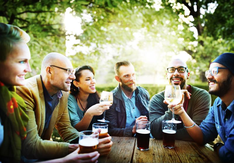 A post-work social engagement could be a great way to network with prospective employees.
