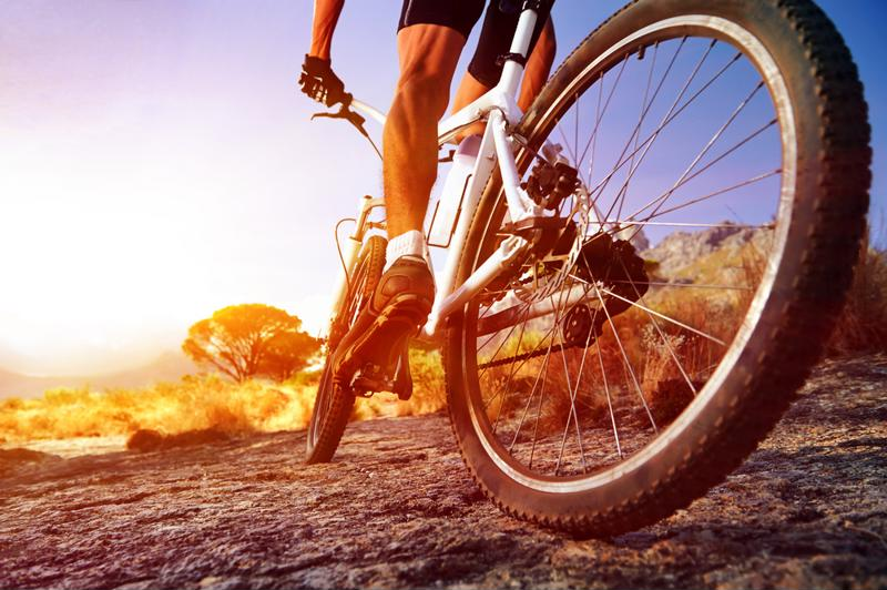 An hour of cycling a day could help you sleep easier at night.