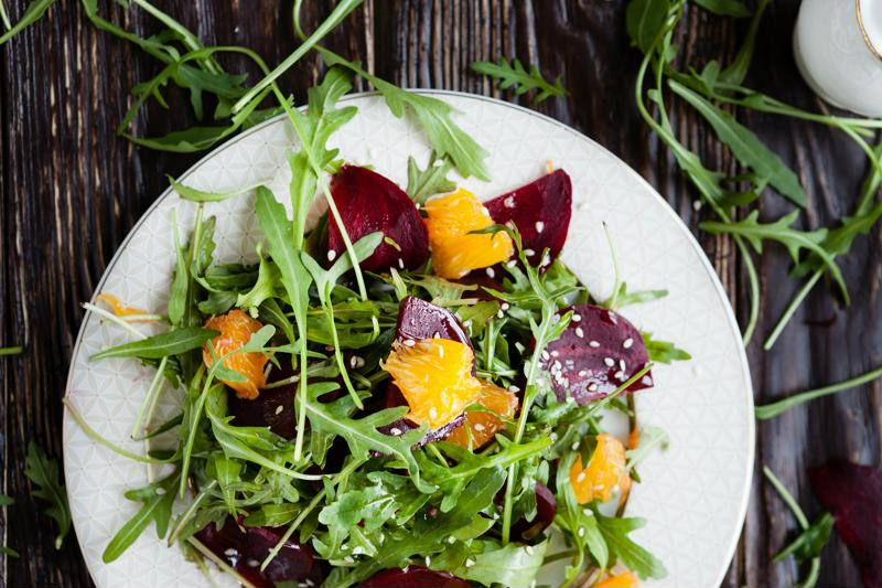 A fresh salad can offer a wide variety of flavors and nutrients.