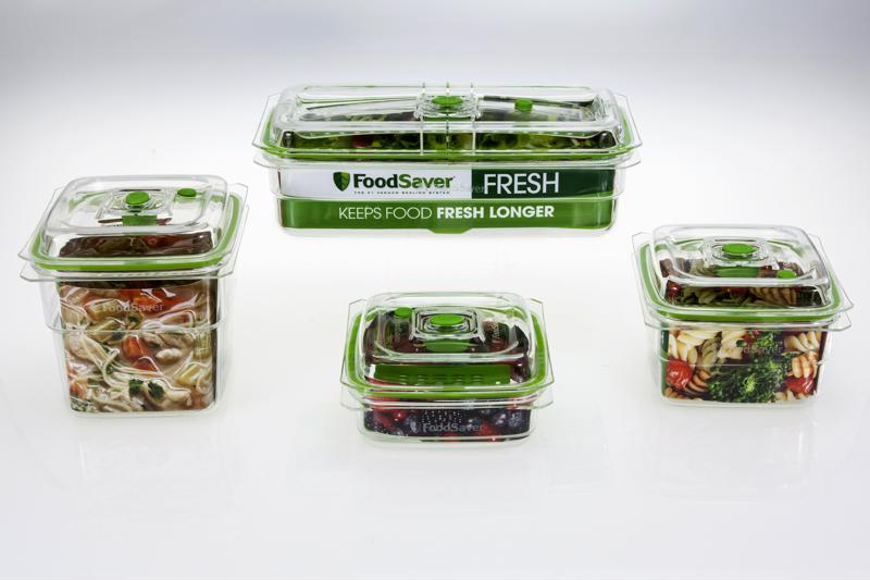 Divide food into containers for easy transportation.