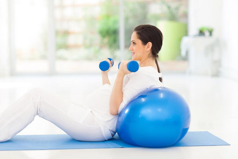 Regular exercise during the second trimester can lower your risk of developing gestational diabetes and depression.