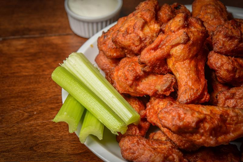 Hot sauce is part of a wide range of dishes, including classic Buffalo wings.