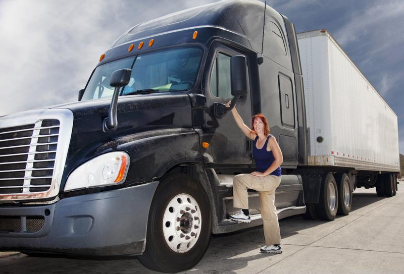 Though men account for the majority of truckers, women are joining the ranks in increasing numbers.