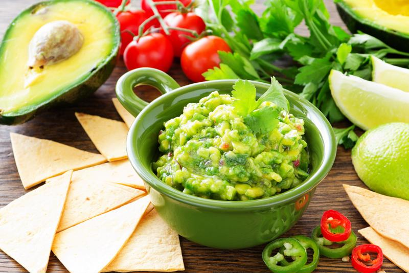 Add interesting ingredients to guacamole to make it even more delicious.