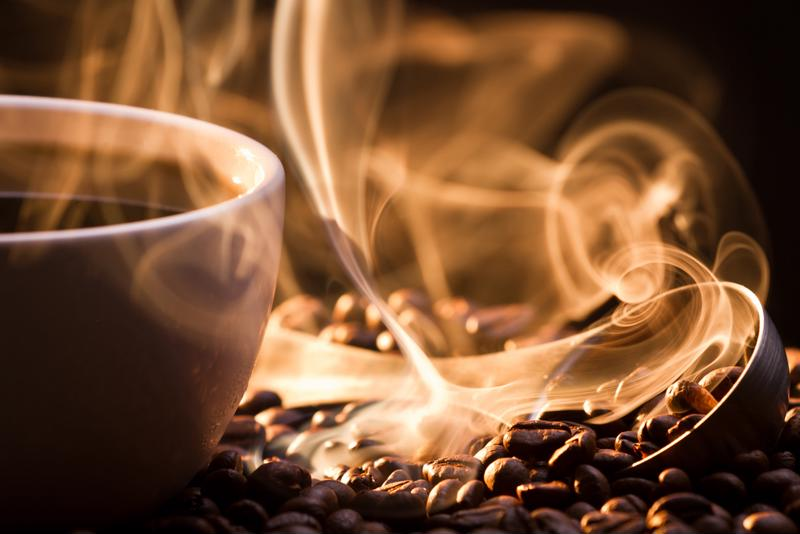 Nothing smells better than a freshly roasted cup of coffee.