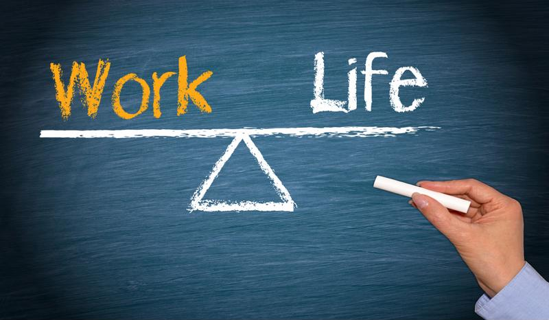 Maintaining a healthy work-life balance isn't easy for small-business owners, according to new polling data.