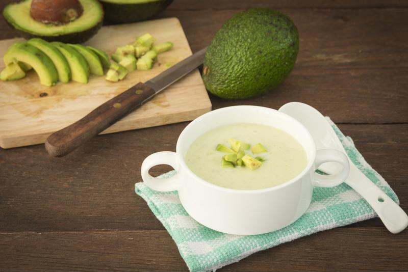Use your Crock-Pot® 6-Quart. Smart Slow Cooker with WeMo® to make this creamy avocado soup.