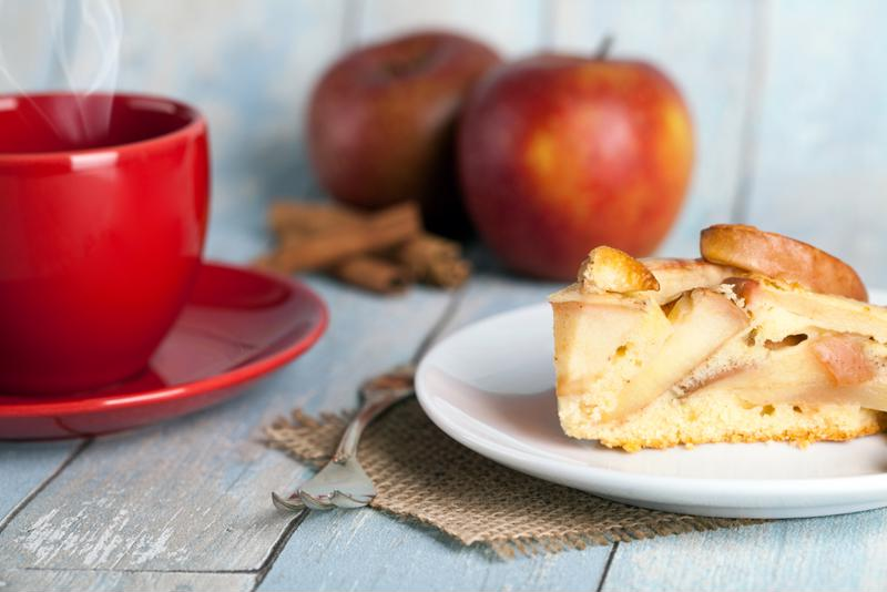 Enjoy the taste of delicious apple pie without the effort of ma