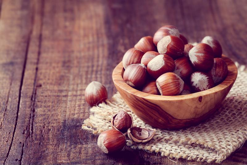 Hazelnuts are naturally sweet and full of nutrients.
