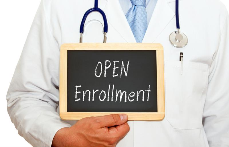 Open enrollment is underway, but will be significantly shorter than in years past.