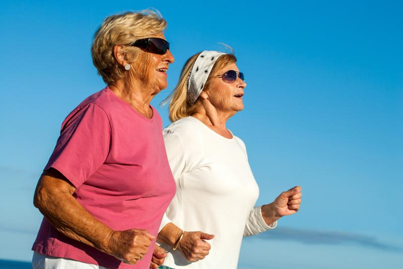 Low impact exercise can relieve arthritis pains.