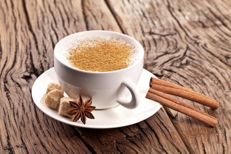 Cinnamon and coffee can be very relaxing.