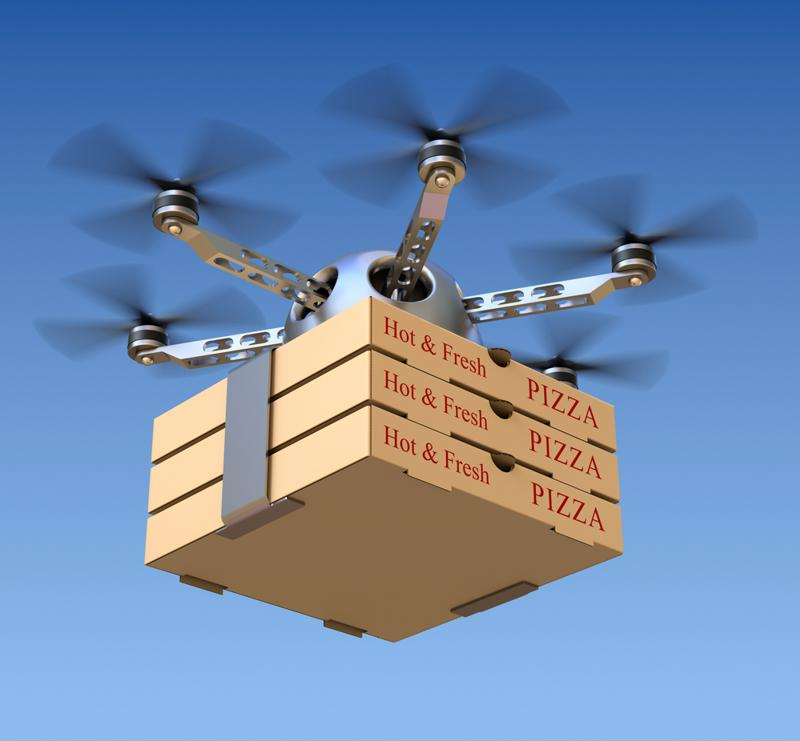 Drones if jammed run the risk of damaging hardware and products.